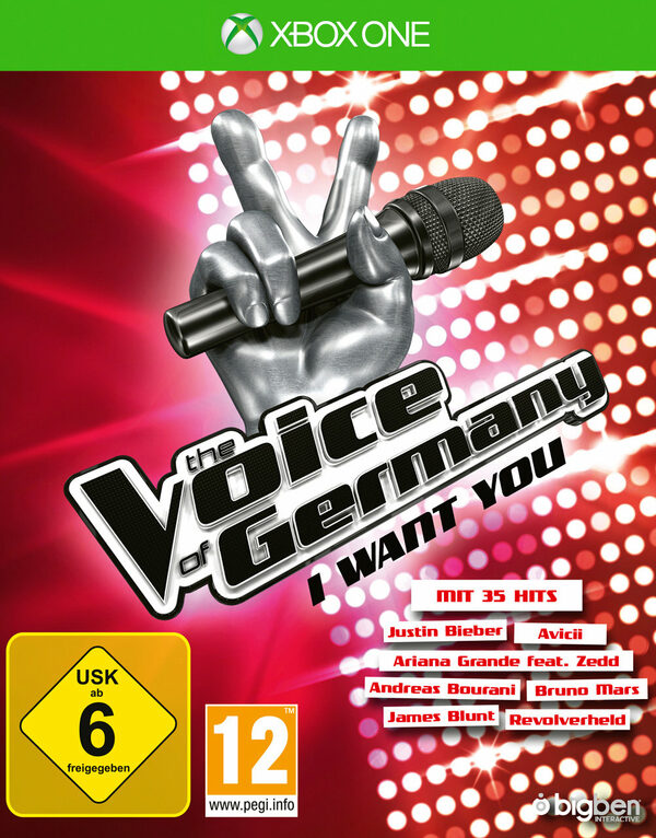 The Voice Of Germany: I Want You XBox One Bild