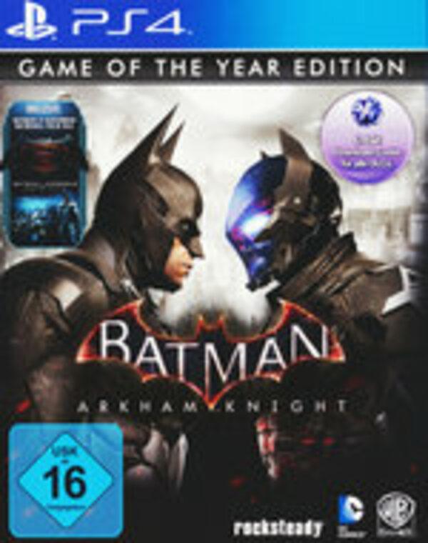 Batman: Arkham Knight - Game Of The Year Edition Playstation 4 Bild