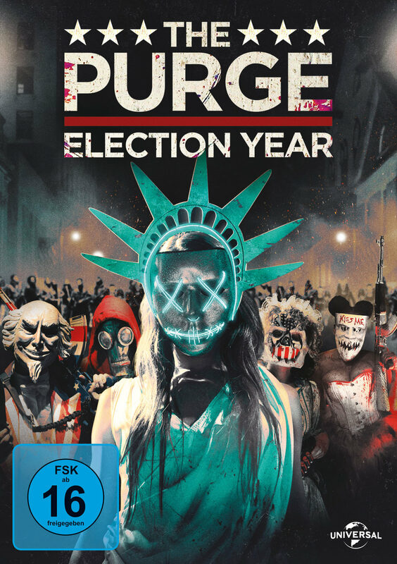 The Purge: Election Year DVD Bild