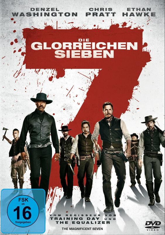 Die glorreichen Sieben DVD Bild