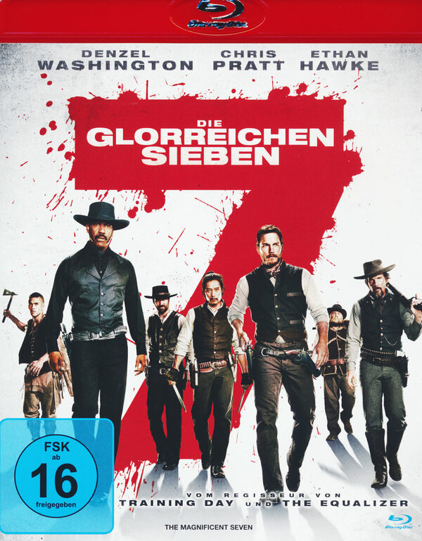Die glorreichen Sieben Blu-ray Bild