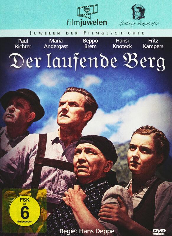 Der laufende Berg - Die Ganghofer Verfilmungen DVD Bild