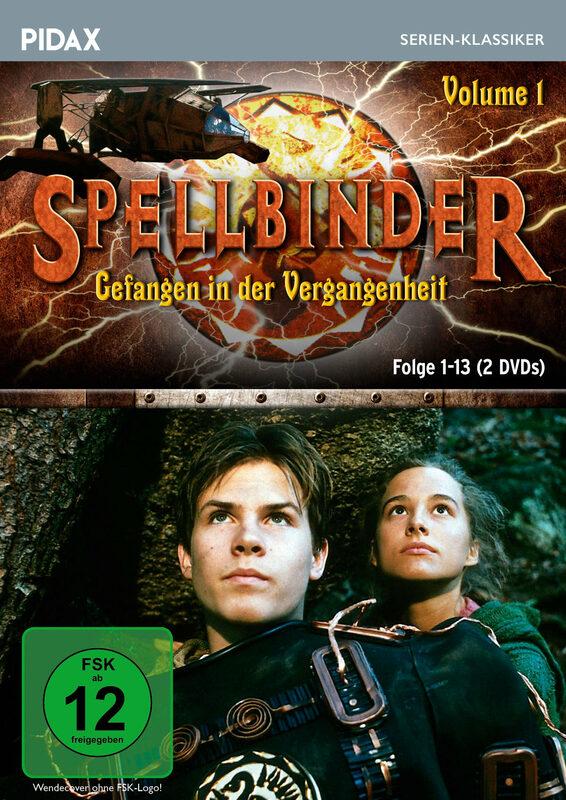 Spellbinder - Gefangen in der...  Vol. 1/Ep.1-13 DVD Bild