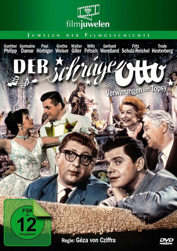 Der schräge Otto (BRD) - Verwirrungen um Topsi DVD Bild