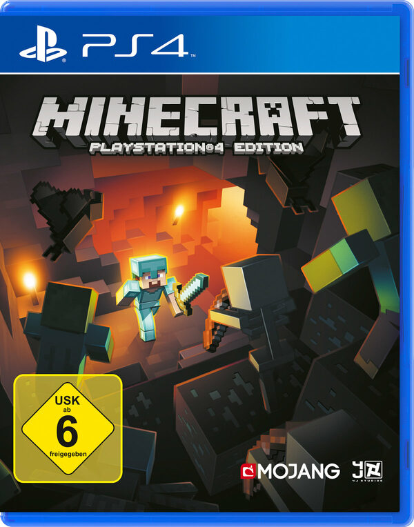 Minecraft Playstation 4 Bild