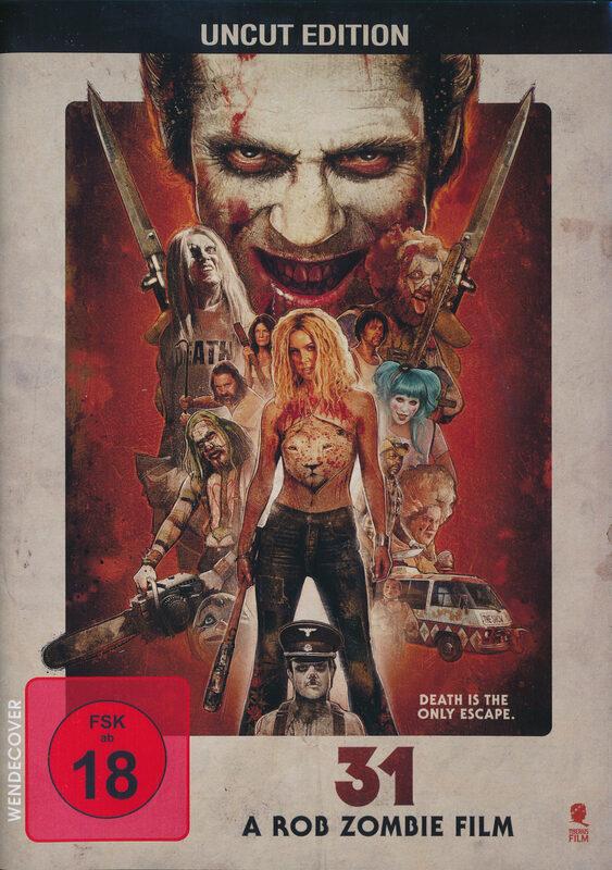 31 - A Rob Zombie Film - Uncut DVD Bild