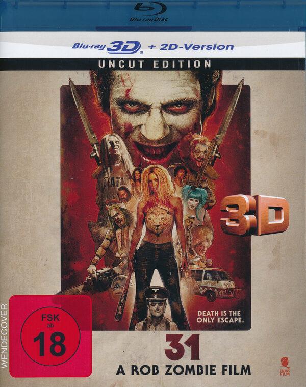 31 - A Rob Zombie Film - Uncut Blu-ray Bild