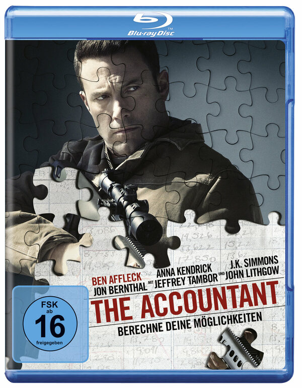 The Accountant Blu-ray Bild