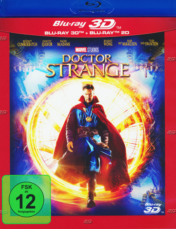 Doctor Strange  (+ BR) Blu-ray Bild