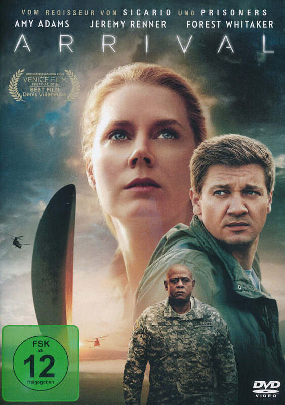 Arrival DVD Bild