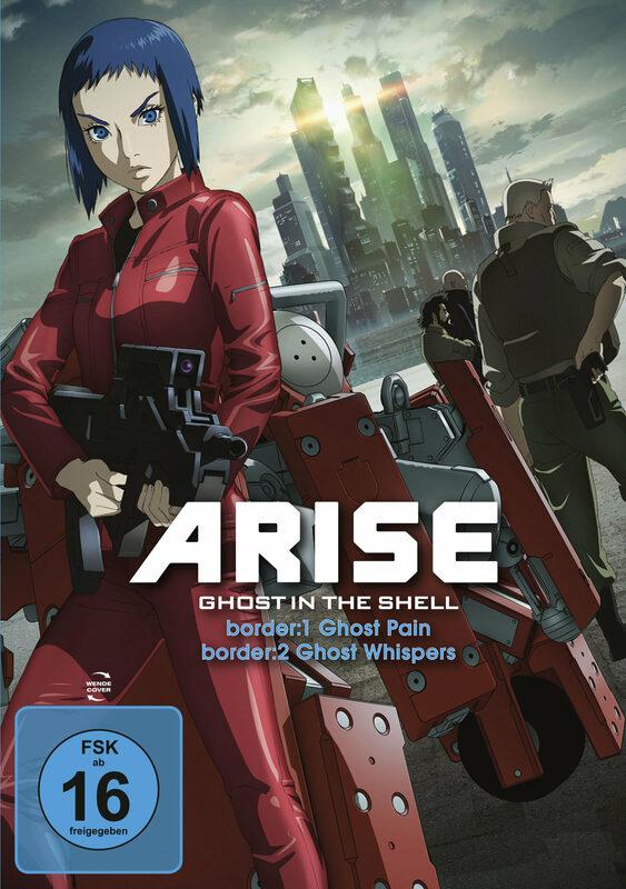 Ghost in the Shell - ARISE: border: 1+2 DVD Bild