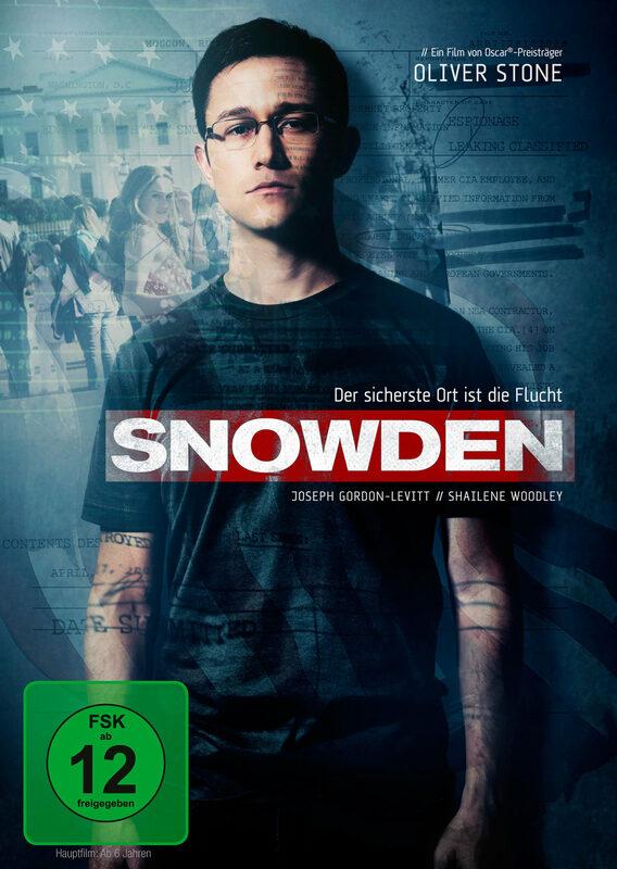Snowden DVD Bild