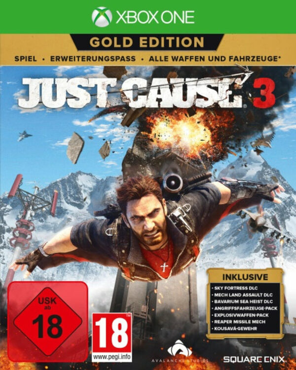 Just Cause 3 (Gold Edition) XBox One Bild