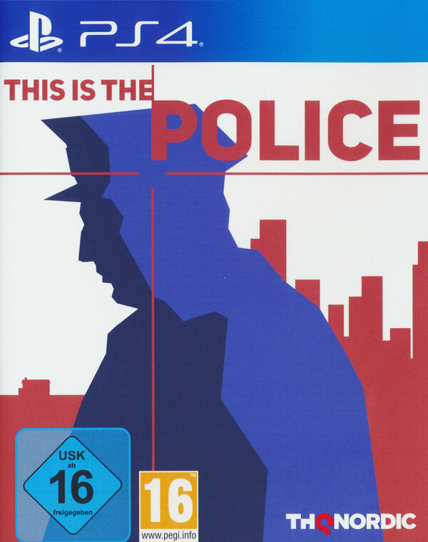 This is the Police Playstation 4 Bild