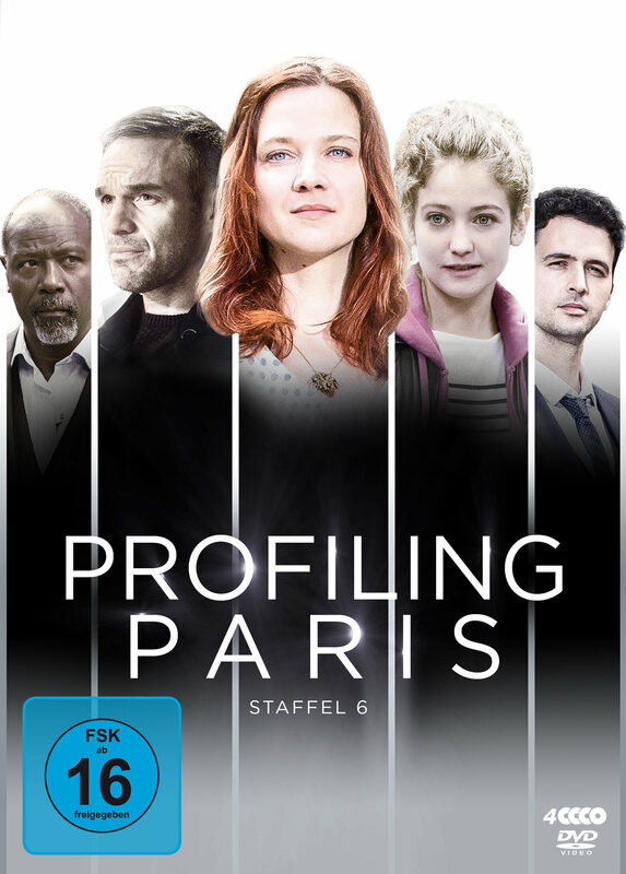 Profiling Paris - Staffel 6  [4 DVDs] DVD Bild