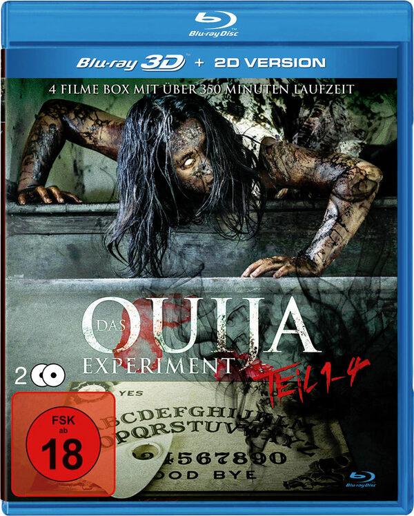 Das Ouija Experiment Teil 1-4 (incl. 2D-Version) Blu-ray Bild