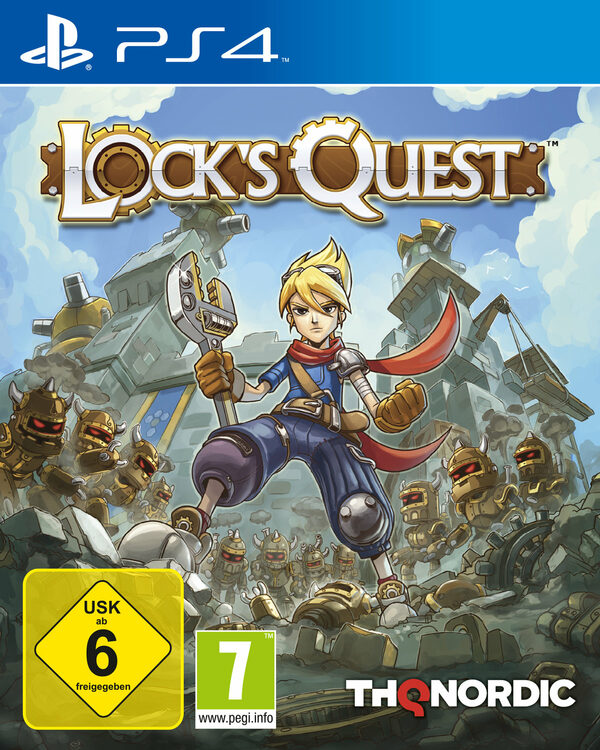 Lock's Quest Playstation 4 Bild