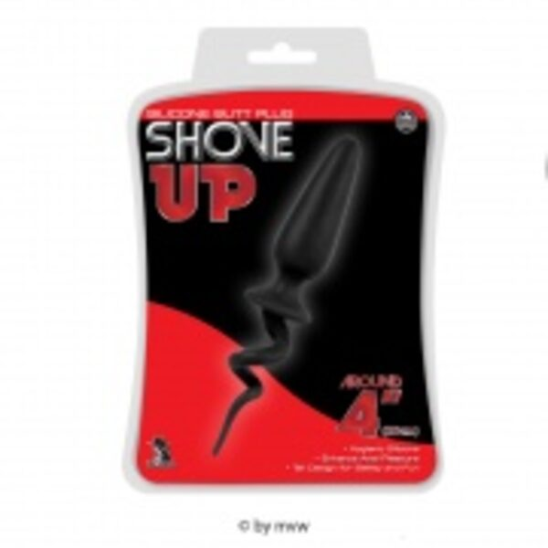Shove Up 10cm Black Gay Toys Bild