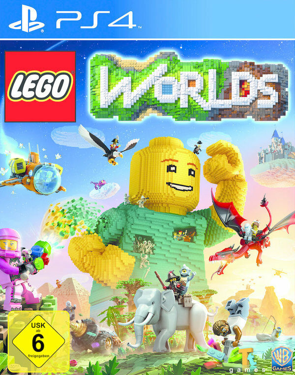 LEGO Worlds Playstation 4 Bild