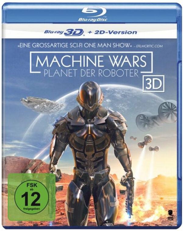Machine Wars - Planet der Roboter Blu-ray Bild