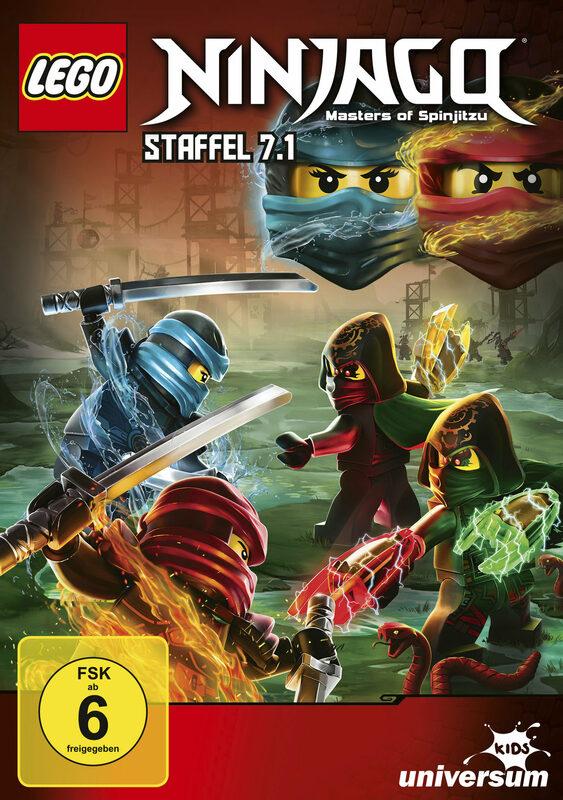 LEGO Ninjago - Staffel 7.1 DVD Bild