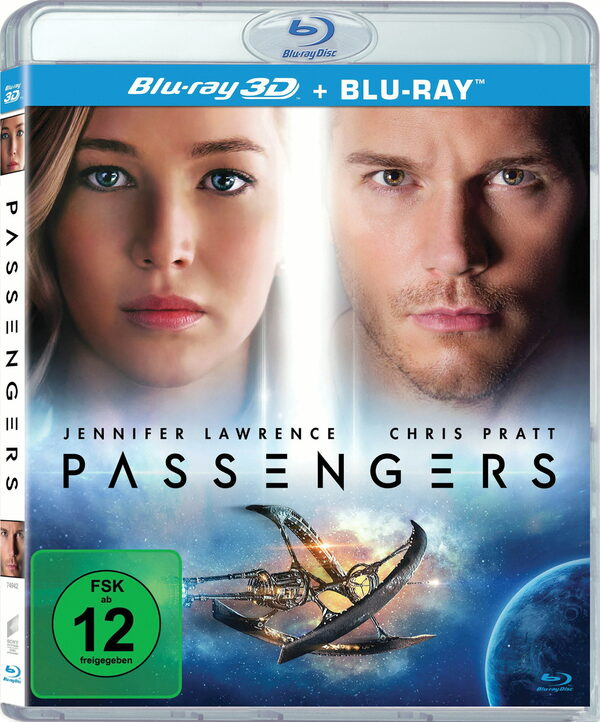 Passengers (Blu-ray 3D) Blu-ray Bild