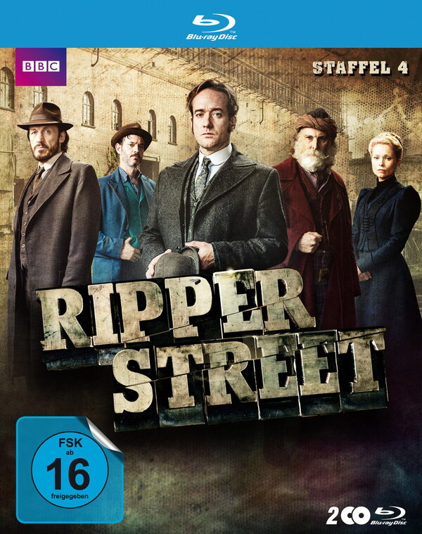 Ripper Street - Staffel 4 (2 Discs) Blu-ray Bild