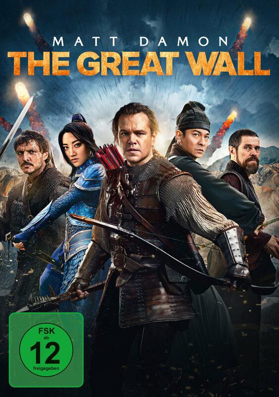 The Great Wall DVD Bild