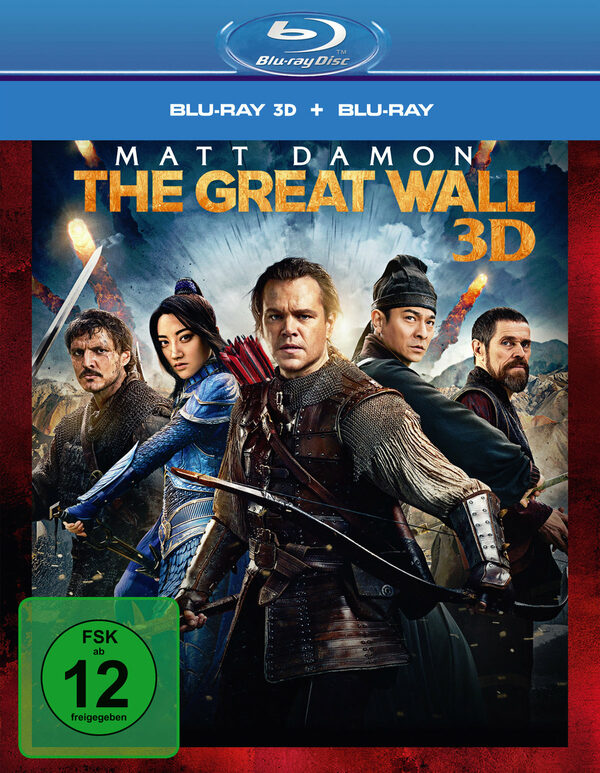 The Great Wall  (+ BR) Blu-ray Bild