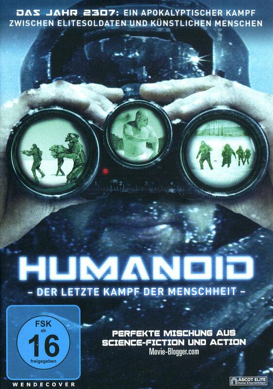 Humanoid - Der letzte Kampf der Menschheit DVD Bild