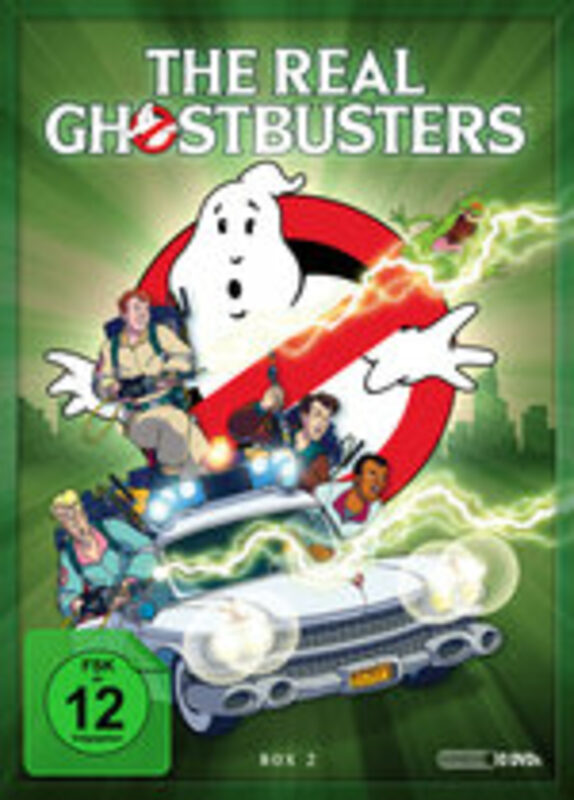 The Real Ghostbusters - Box 2  [10 DVDs] DVD Bild
