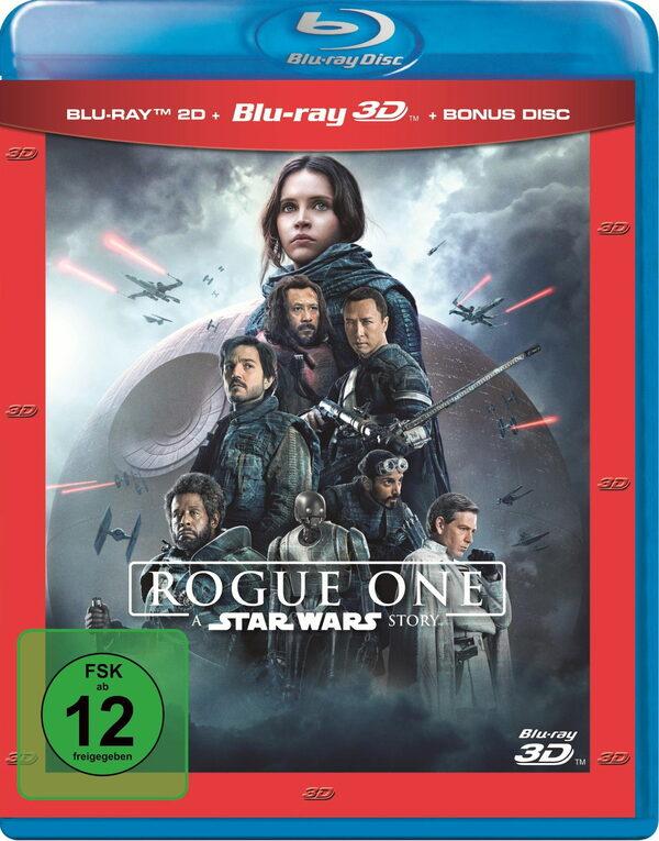 Rogue One: A Star Wars Story (Blu-ray 3D + Blu-ray + DVD) Blu-ray Bild