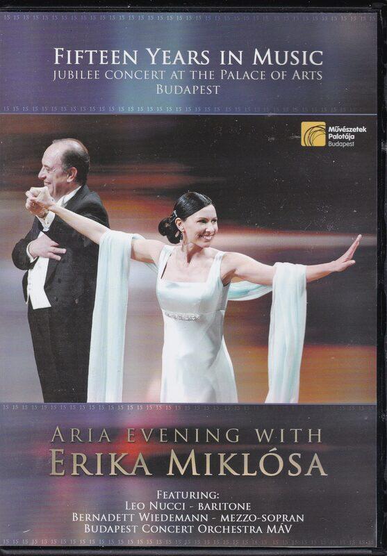 Aria Evening with Erika Miklósa DVD Bild