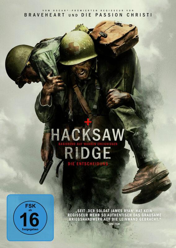 Hacksaw Ridge DVD Bild