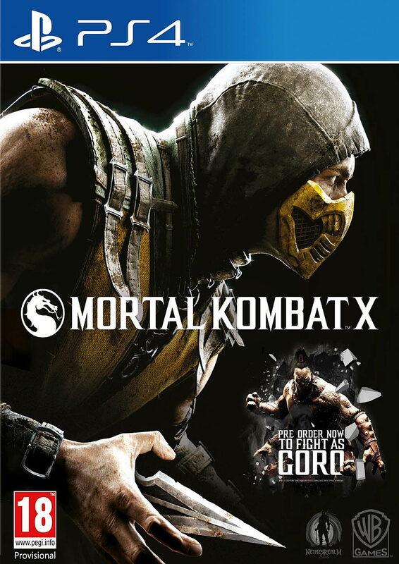 Mortal Kombat X - Special Steelcase Edition AT Playstation 4 Bild