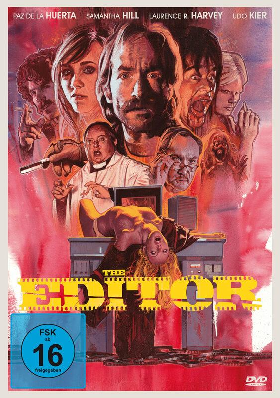 The Editor DVD Bild