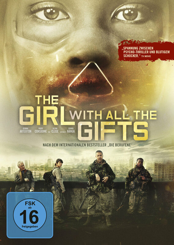 The Girl with all the Gifts DVD Bild