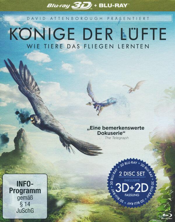 David Attenborough: Könige der Lüfte  (+ BR) Blu-ray Bild