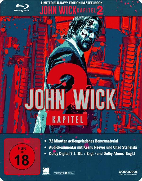 John Wick: Kapitel 2 - Steelbook - Limited Edition Blu-ray Bild