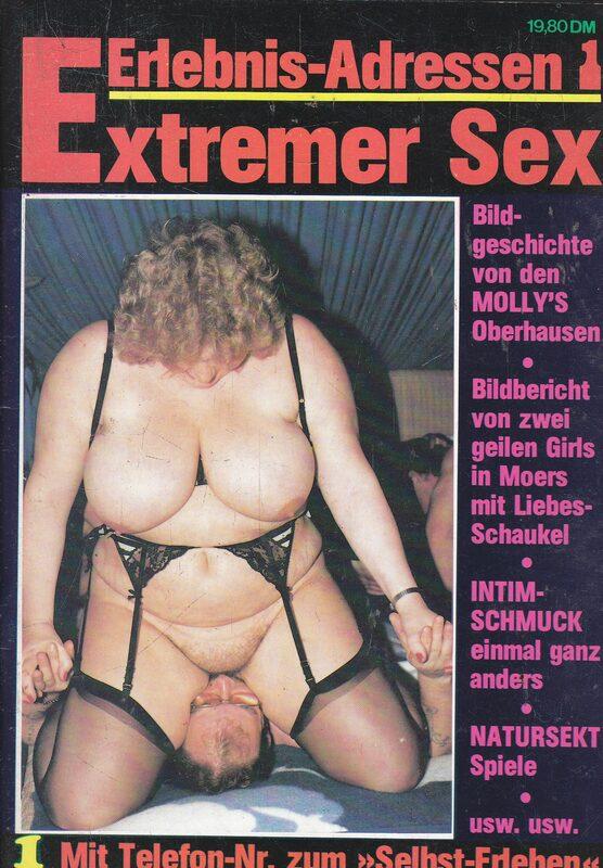 Extremer Sex 01 DVD-Magazin Bild