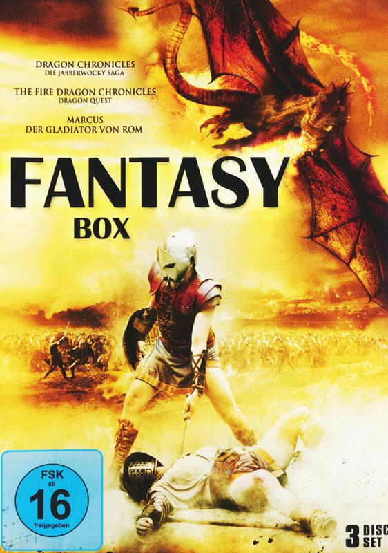 Fantasy Box  [3 DVDs] DVD Bild