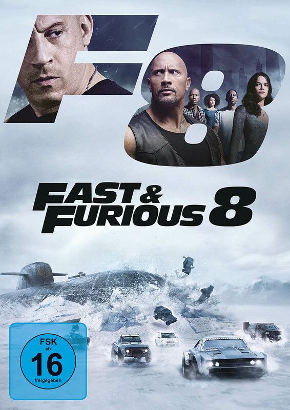 Fast & Furious 8 DVD Bild