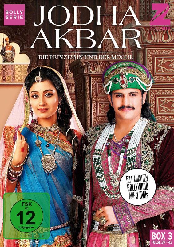 Jodha Akbar - Die Prinzessin und der Mogul DVD Bild