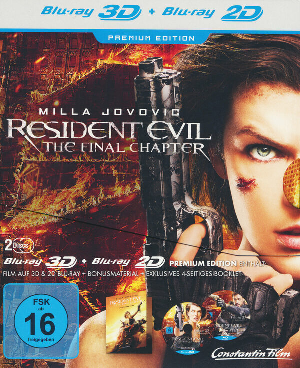 Resident Evil: The Final Chapter  (+ BR) [LE] Blu-ray Bild