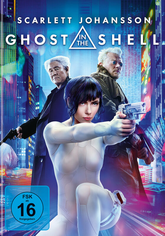 Ghost in the Shell DVD Bild