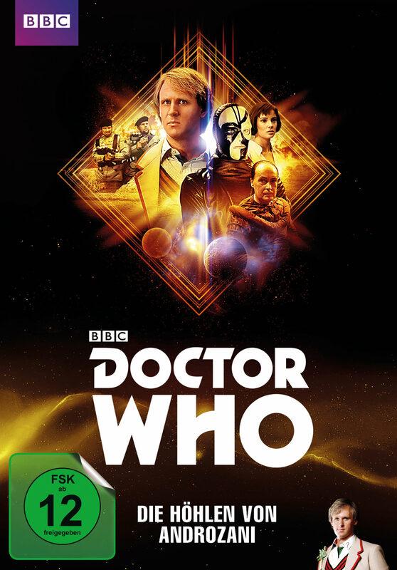 Doctor Who - Fünfter Doktor - Die Höhlen von... DVD Bild