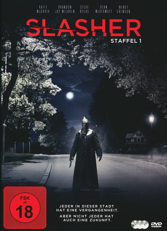 Slasher - Komplette 1. Staffel  [2 DVDs] DVD Bild