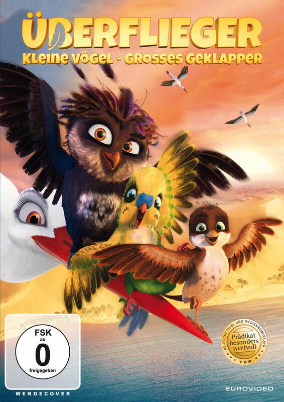 Überflieger - Kleine Vögel, großes Geklapper DVD Bild