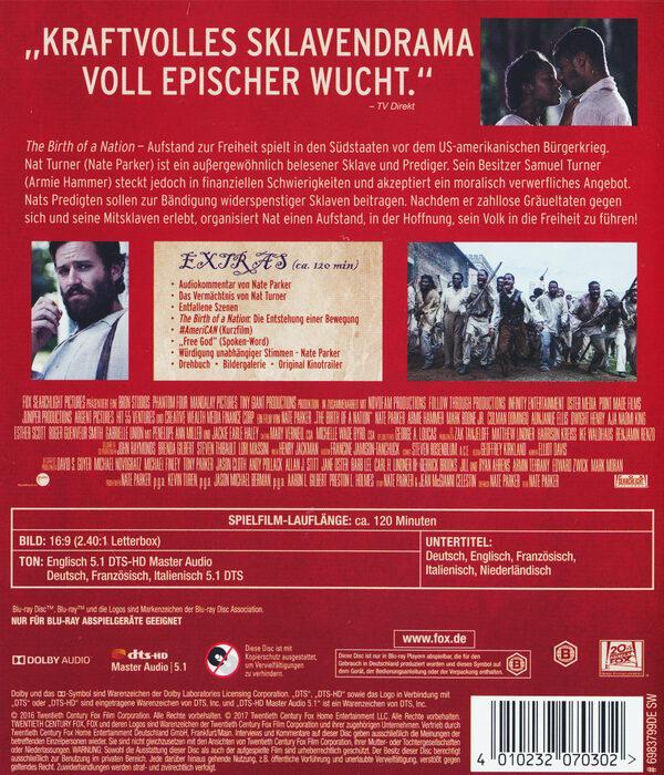 The Birth Of A Nation – Aufstand Zur Freiheit