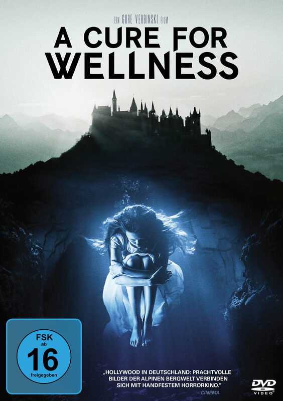 A Cure for Wellness DVD Bild